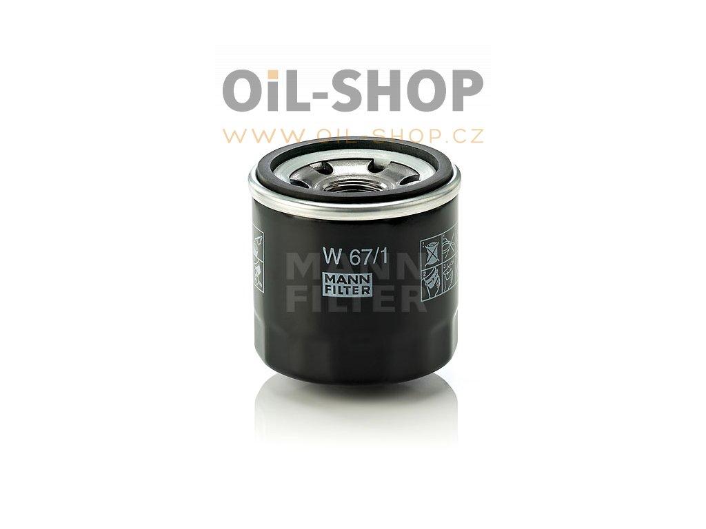Mann Filtr Olejový W67/1