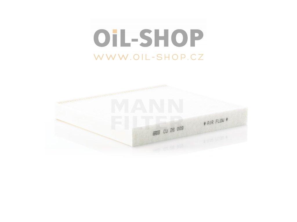 Mann Filtr Kabinový CU26009