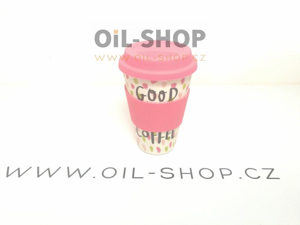 Bambusový Termo Hrnek-Good Coffee