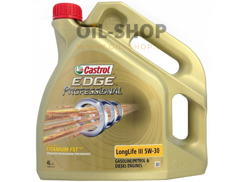castrol edge professional longlife iii 5w 30 4l
