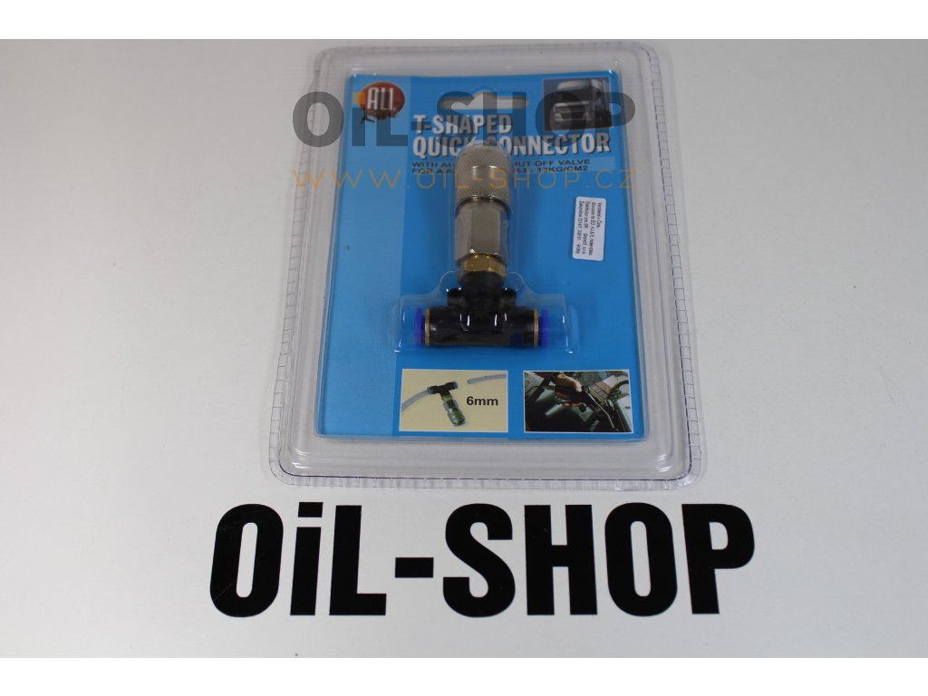 ALL RIDE Konektor T Pro Vzduch 6MM