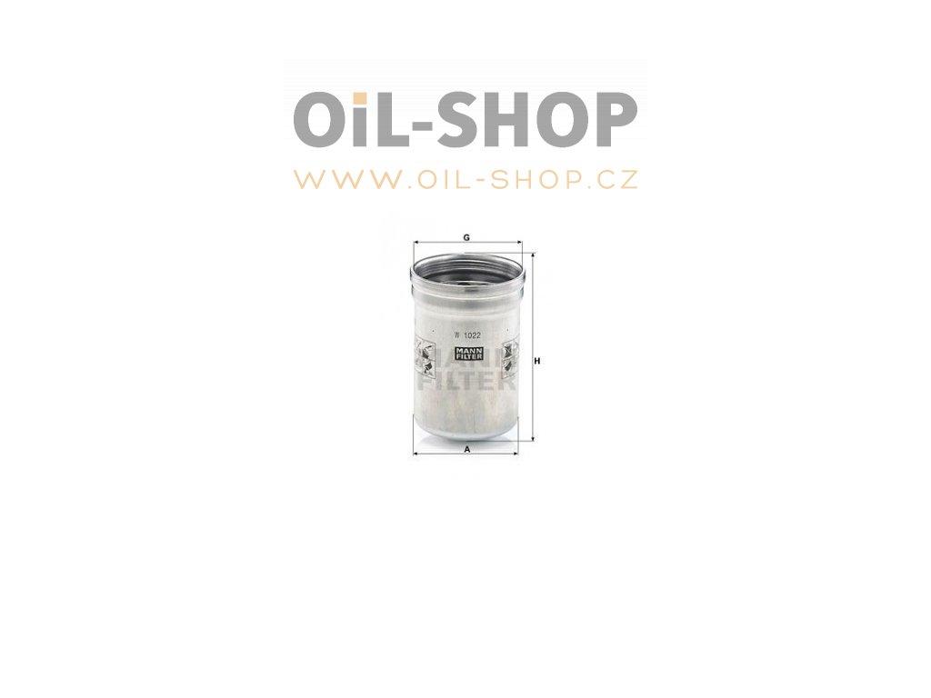 olejovy filtr mann w1022 mf w1022 default