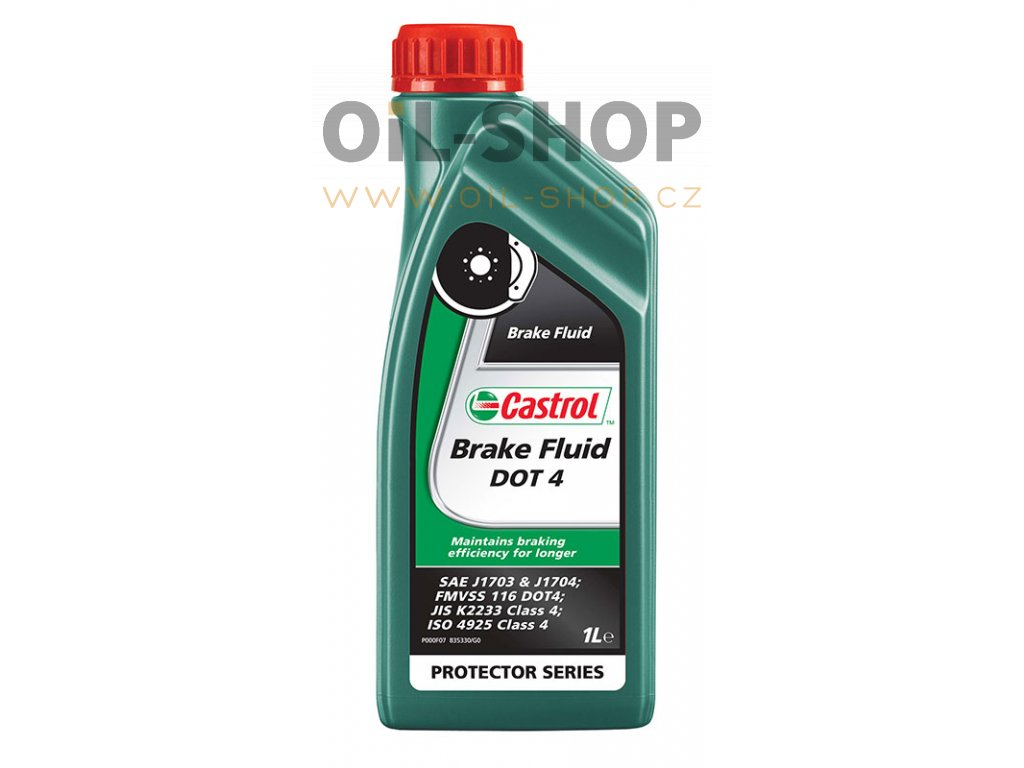 Castrol Brake Fluid DOT 4 1 lt