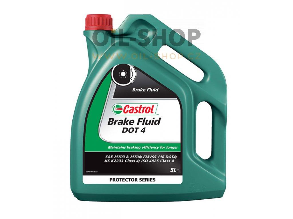 Castrol Brake Fluid DOT 4 5 lt