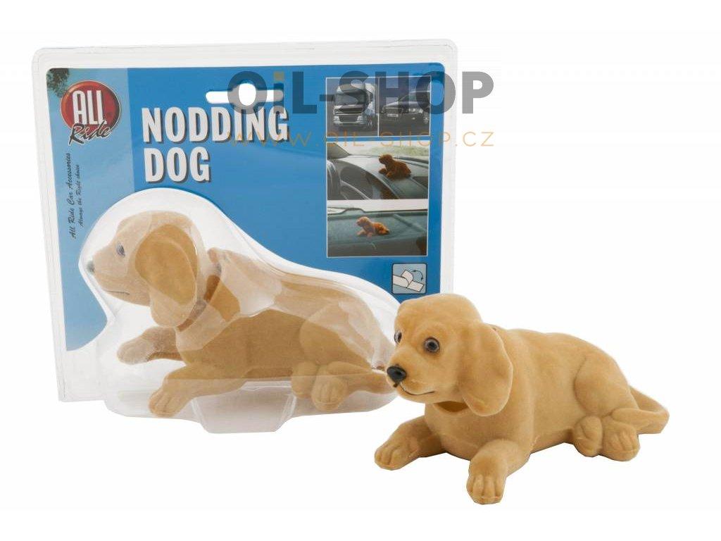all ride nodding dog brown