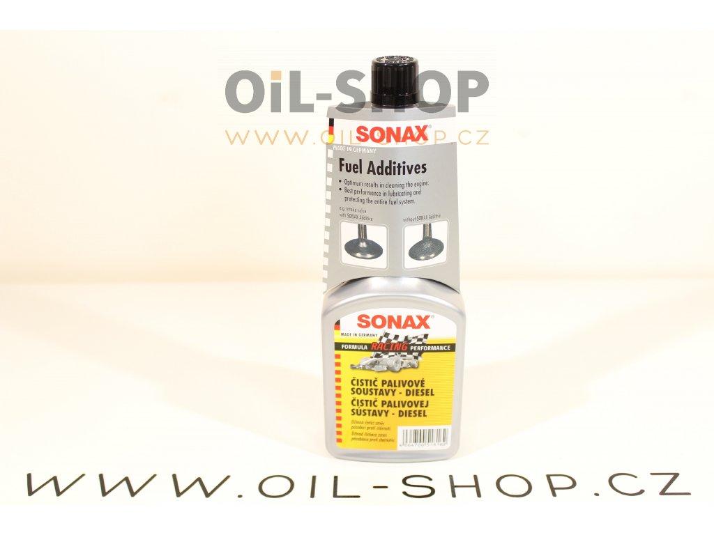 Sonax Čistič Palivové Soustavy Diesel 250 ml