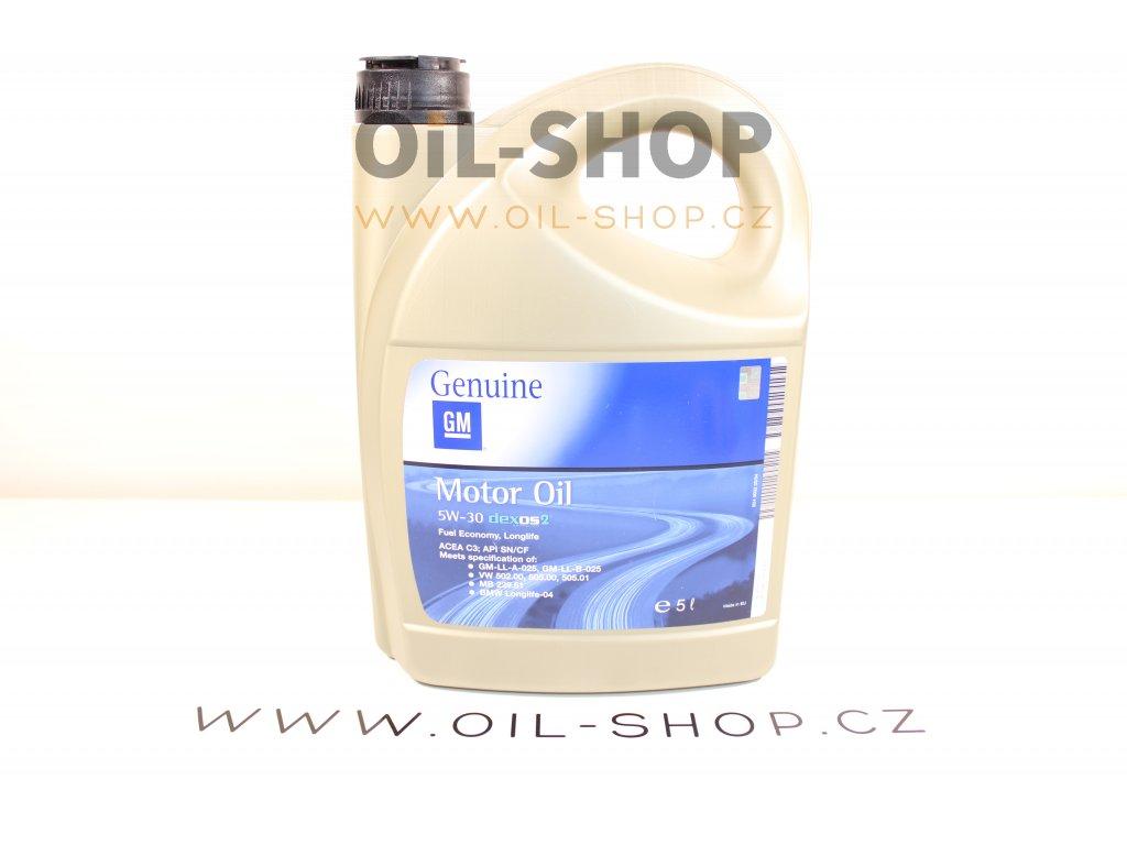 Opel GM Dexos2 5W-30  5L