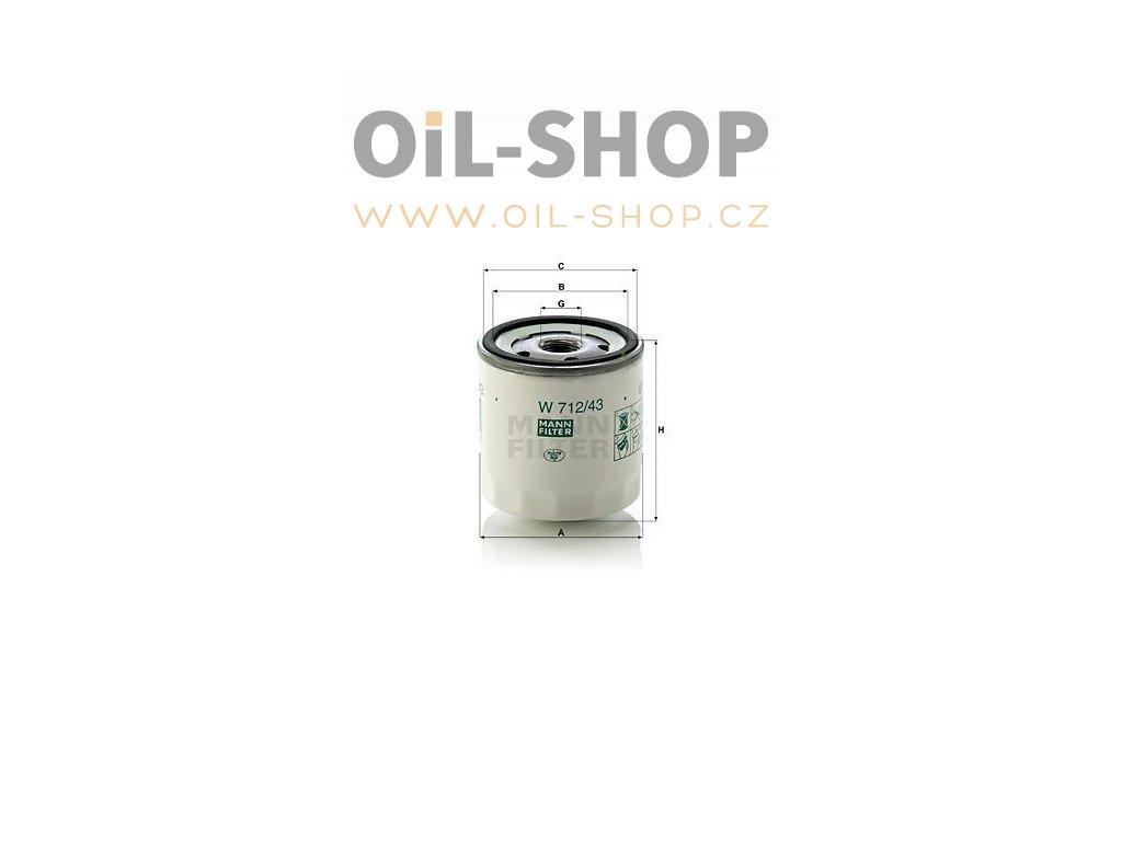 olejovy filtr mann w712 43 mf w712 43 ford skoda default