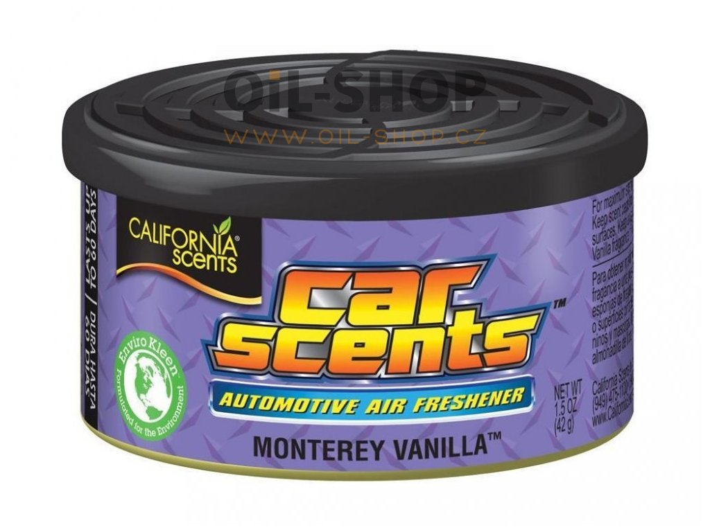 California Scents Car Scents Monterey Vanilla (vanilka)