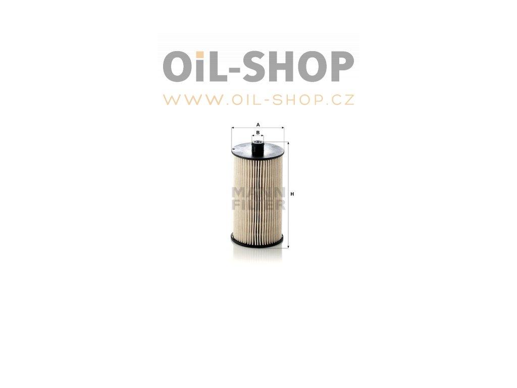 palivovy filtr mann pu816x vw default