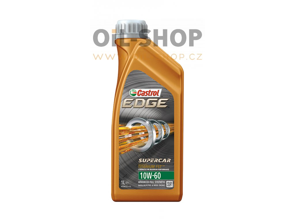 Castrol Edge Titanium FST Supercar 10W-60 1 l