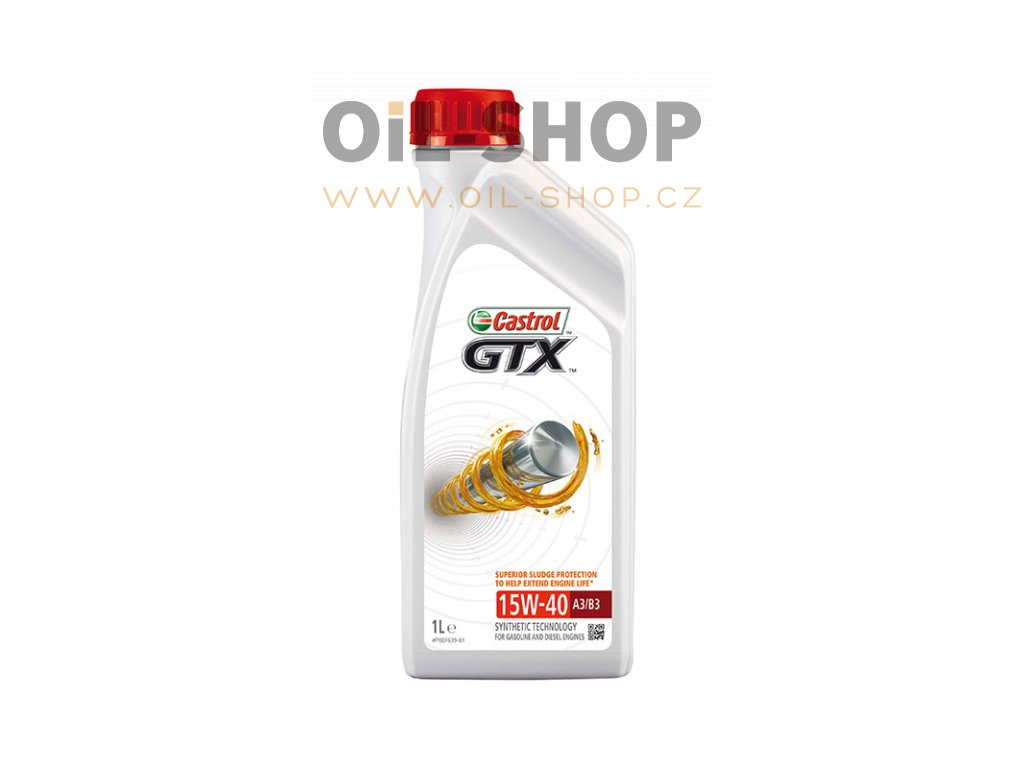Castrol GTX 15W-40 A3/B3 1L