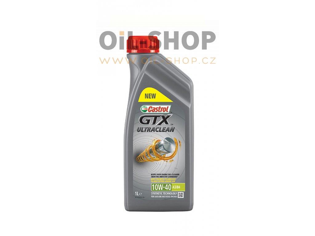 Castrol GTX ULTRACLEAN 10W-40 A3/B4 1L