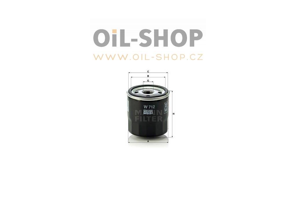 hydraulicky filtr mann w712 mf w712 austin ford opel default