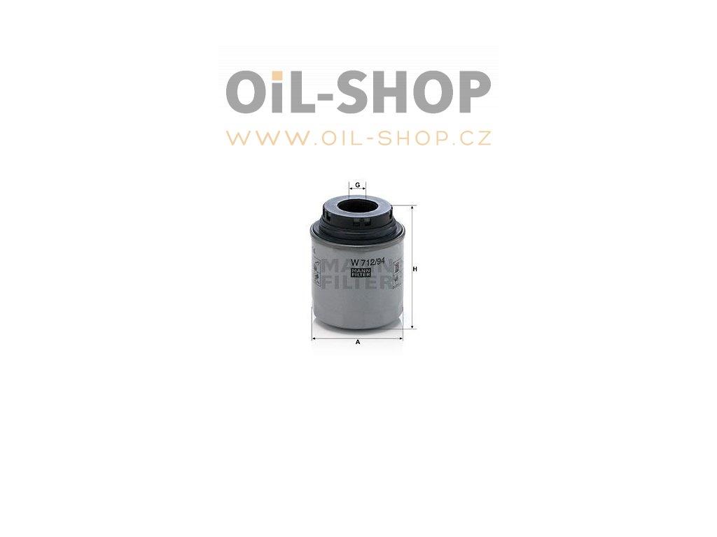 olejovy filtr mann w712 94 mf w712 94 default