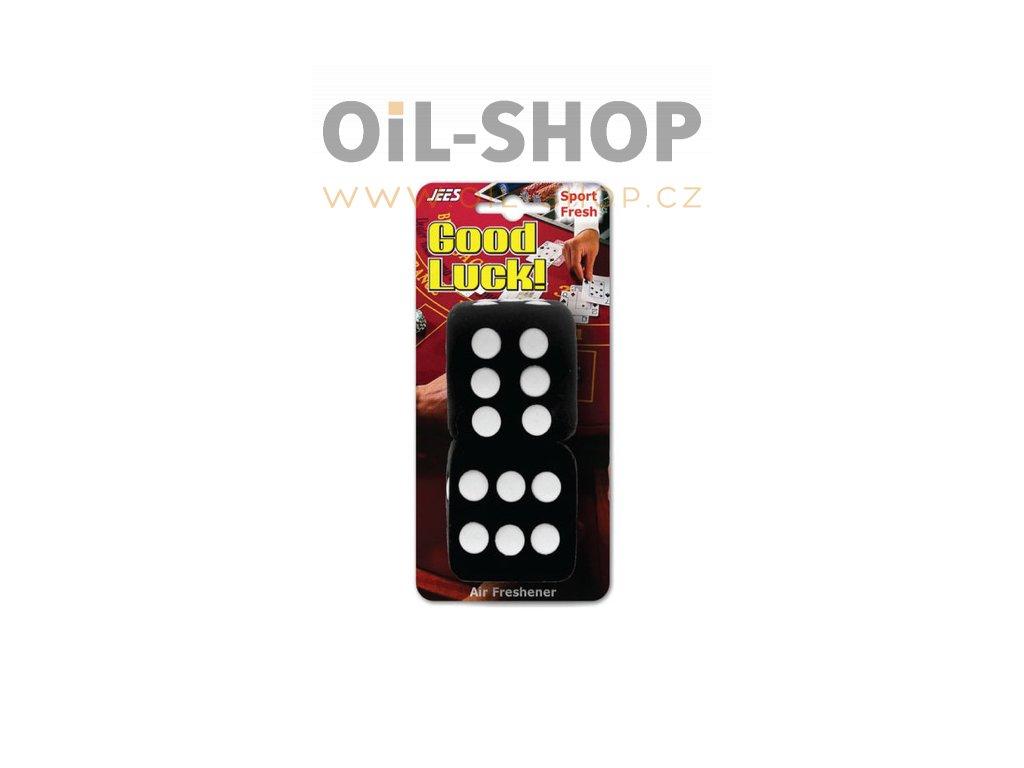 goodluck black dice shape air freshener 500x500