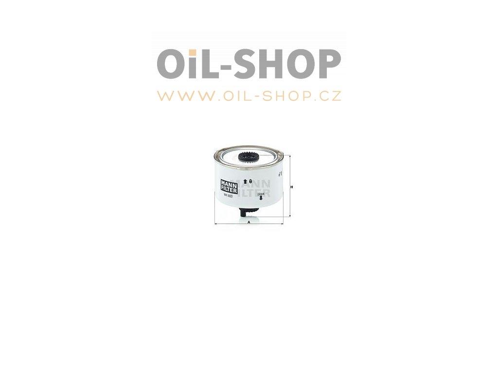 palivovy filtr mann mf wk8022x default