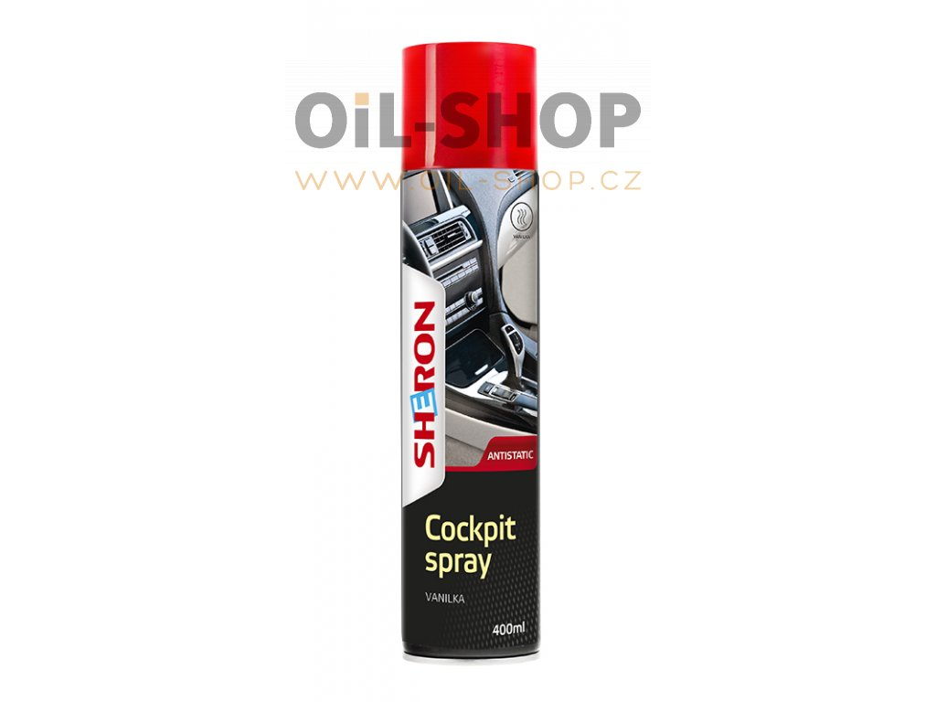 Sheron Cockpit Spray 400ml Vanilka