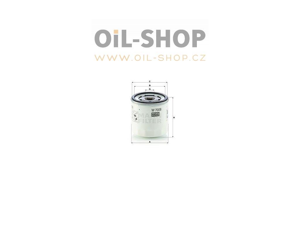 olejovy filtr mann w7008 ford mazda volvo default