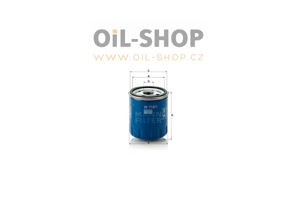 olejovy filtr mann w 716 1 mf w716 1 citroen peugeot default