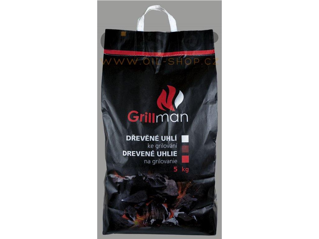 Grillman Dřevěné Uhlí 5kg