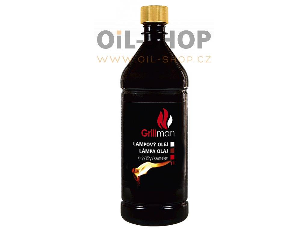 Grillman Lampový Olej Čirý 1L