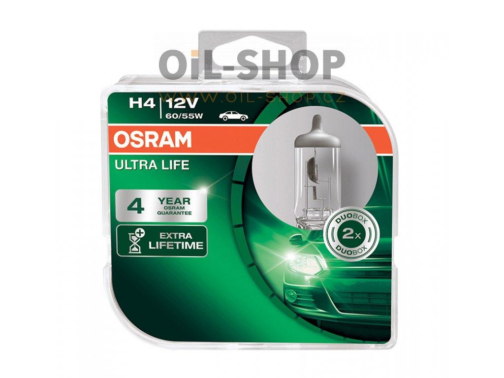 Osram H4 ULTRA LIFE 12V 60/55W Box