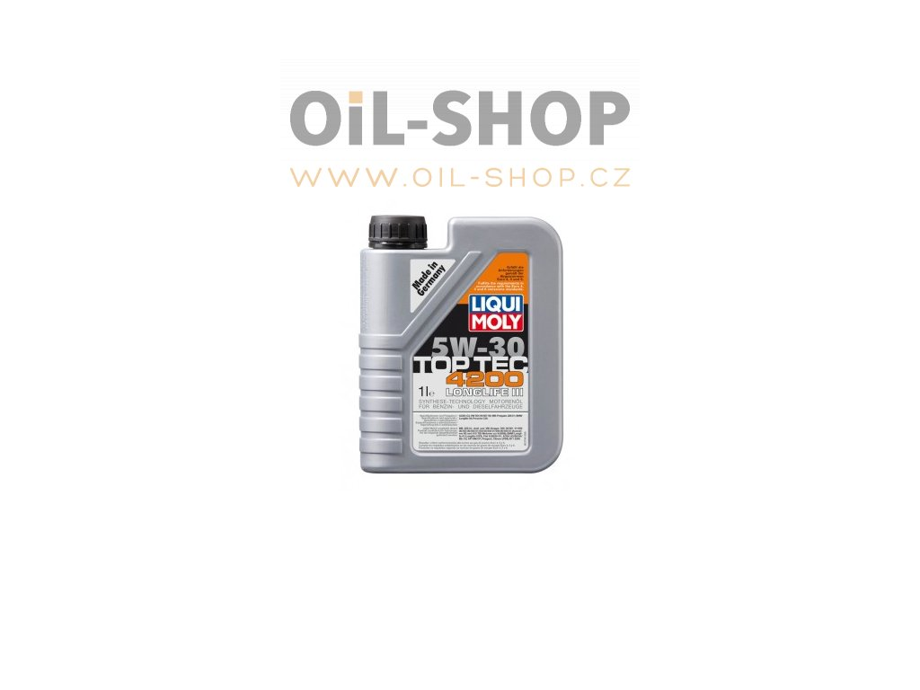 1 1497 motorovy olej top tec 4200 5w 30