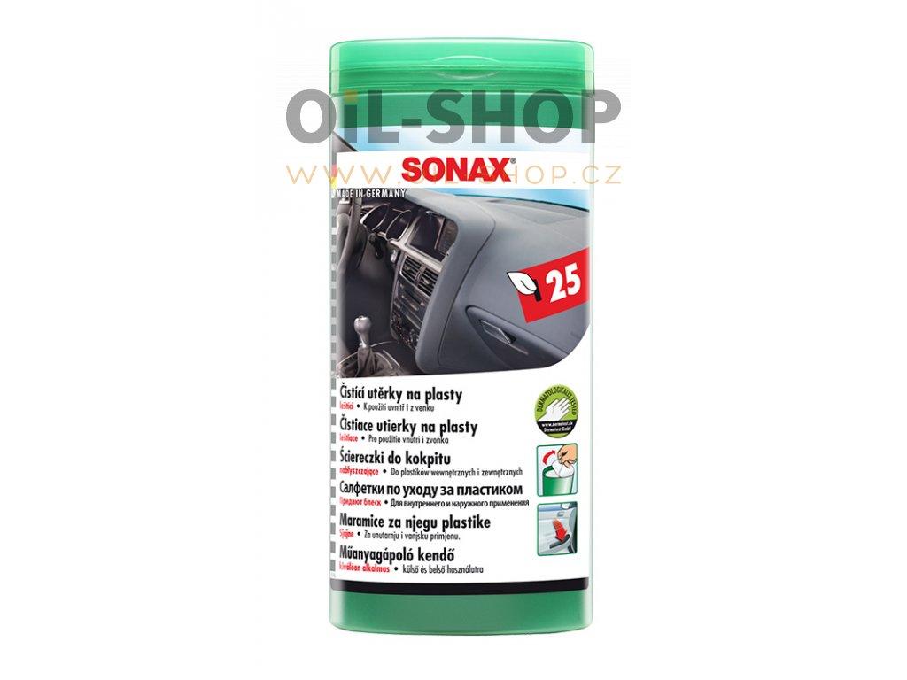Sonax Utěrky Na Plasty 25ks
