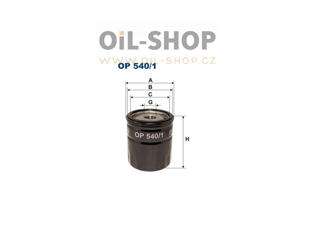 Filtron Filtr Olejový OP540/1T