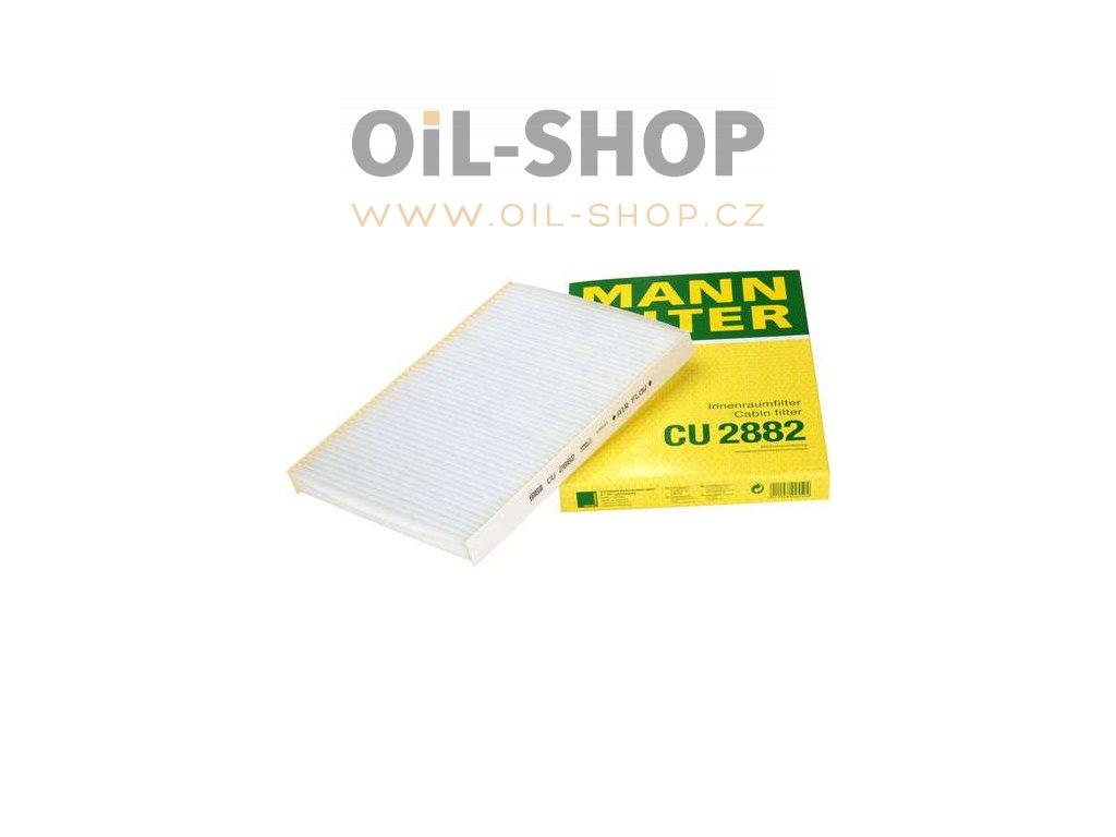 kabinovy filtr mann cu 2882 oil shop