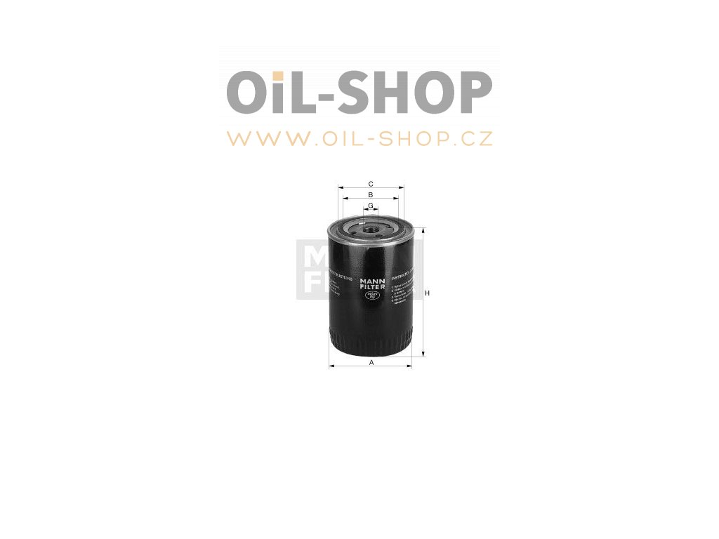olejovy filtr mann w7050 mf w 7050 default