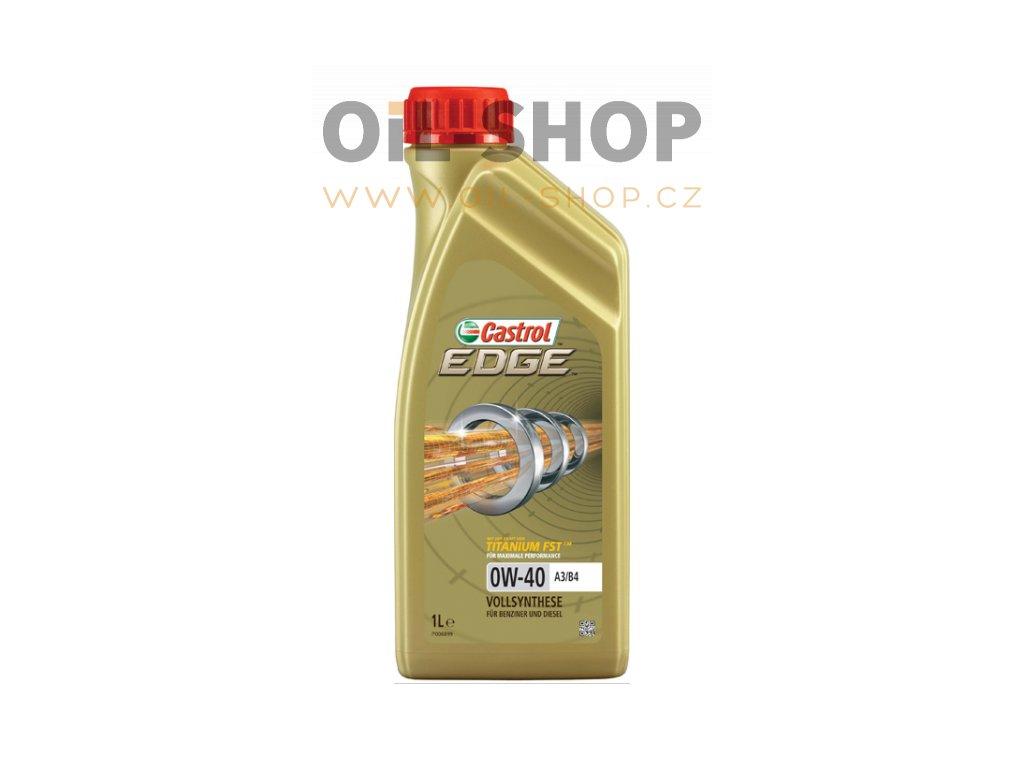 Castrol Edge Titanium FST A3/B4 0W-40  1L