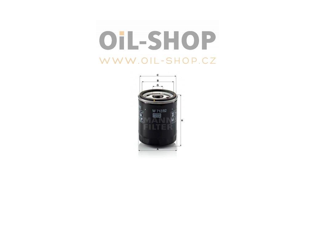 olejovy filtr mann w712 82 mf w712 82 ford default