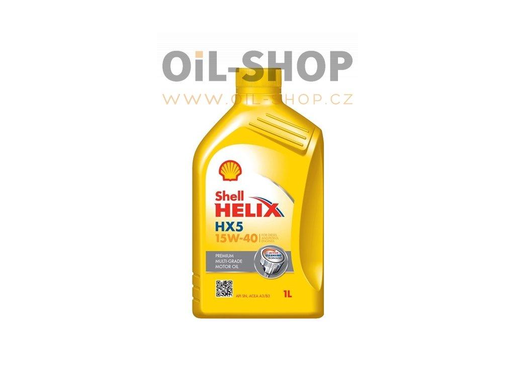 Shell Helix HX5 15W 40 1L
