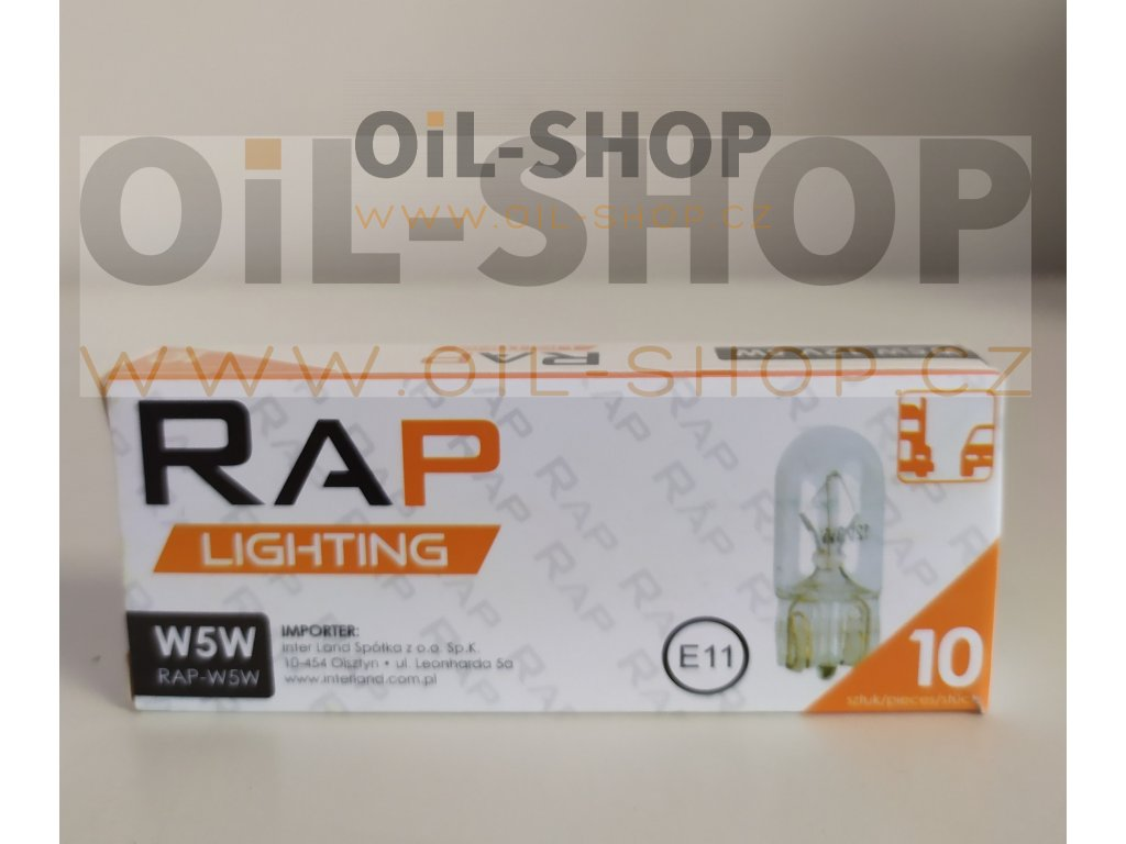 RAP Lighting 12V W5W
