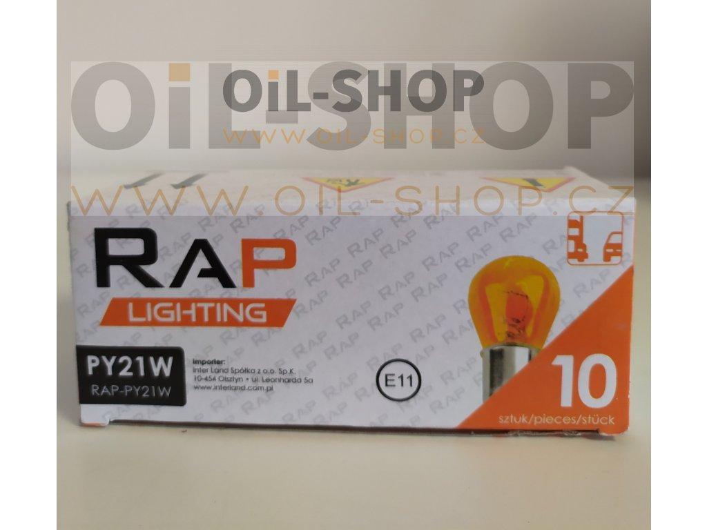 RAP Lighting 12V PY21W