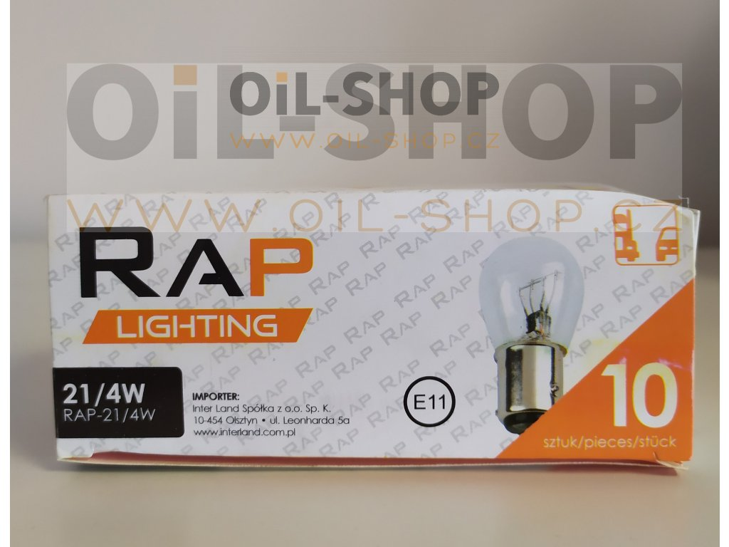 RAP Lighting 12V 21/4W