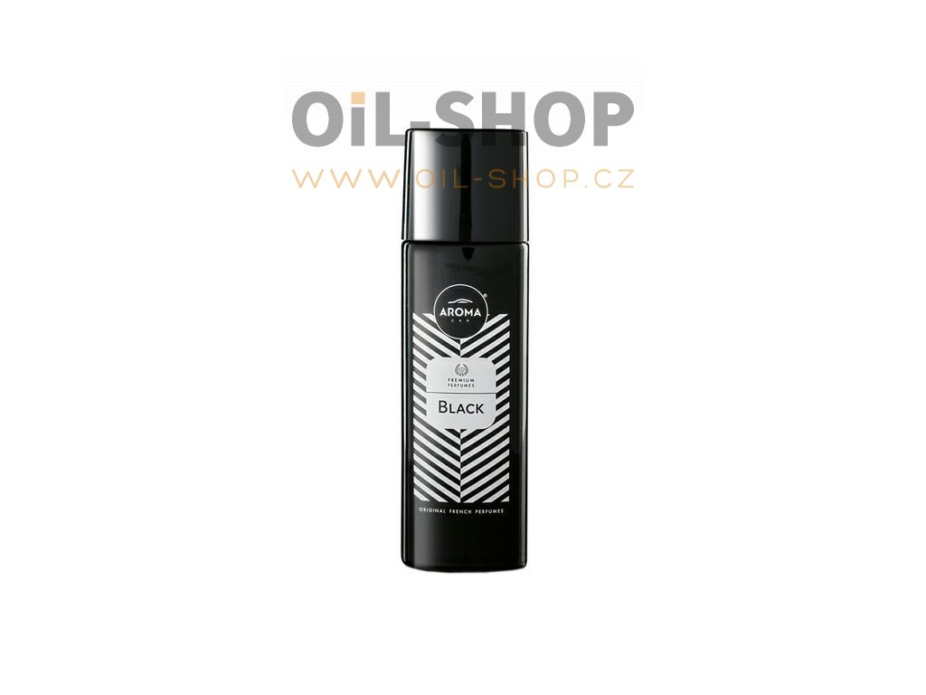 AROMA CAR PRESTIGE SPRAY BLACK