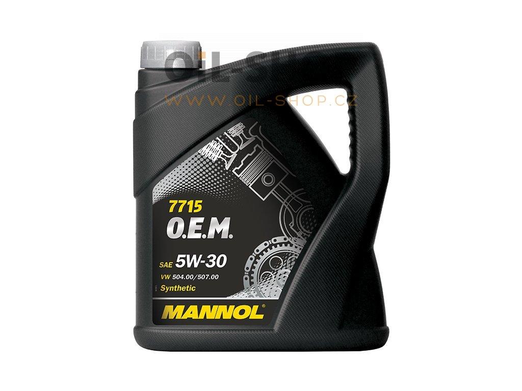 200811 6 olej 5w 30 mannol 7715 o e m vw audi skoda 5l