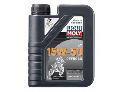 Liqui Moly 3057 Motorbike 4T 15W-50 Offroad  1L