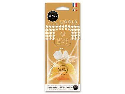 AROMA CAR PRESTIGE BAG GOLD