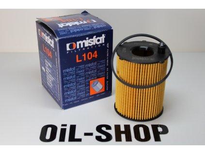 Misfat Filtr Olejový L104