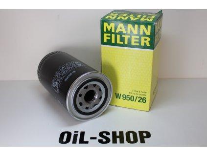 Mann Filtr Olejový W950/26