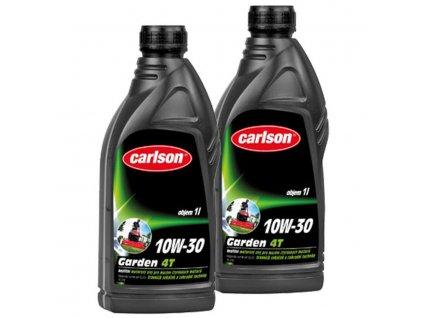 Motorový olej pro čtyřtaktní zahradní techniku Carlson 10W-30 Garden 4T 1l
