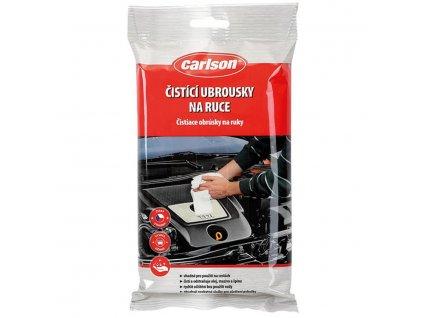 Čistící ubrousky na ruce Carlson 26ks