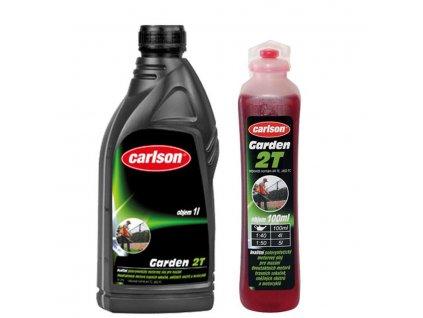 Motorový olej pro dvoutaktní zahradní techniku Carlson Garden 2T 1l