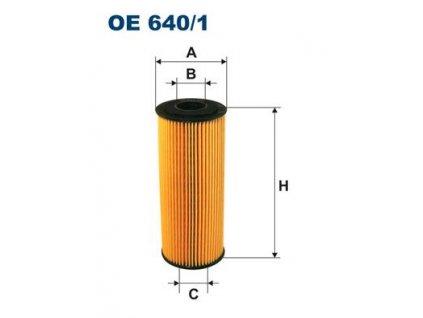 Filtron Filtr Olejový OE640/1