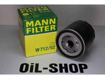 Mann Filtr Olejový W712/52