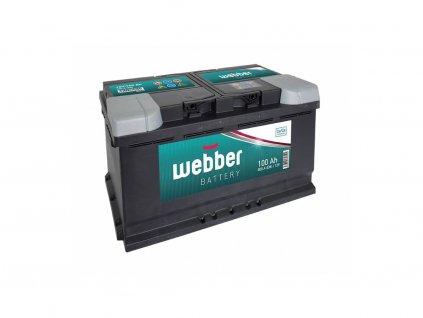 AUTOBATERIE WEBBER 12V 100 Ah